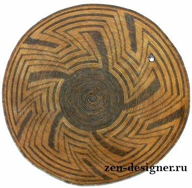 Искусство плетения корзин северо-американских индейцев.