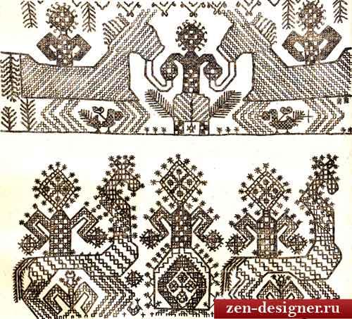 образец русского орнамента