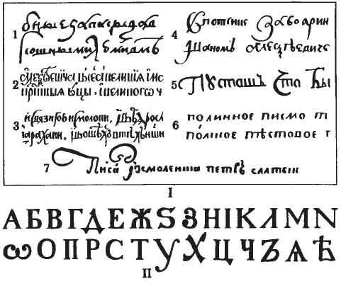 Алфавит русских букв красивый шрифт