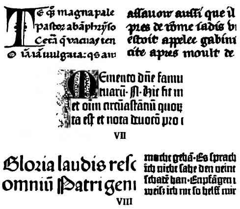 Готический шрифт название шрифтов
