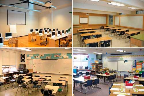 Интерьеры школьных классов