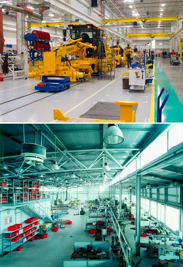 Производственный интерьер