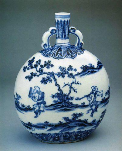 Традиционная китайская роспись по фарфору