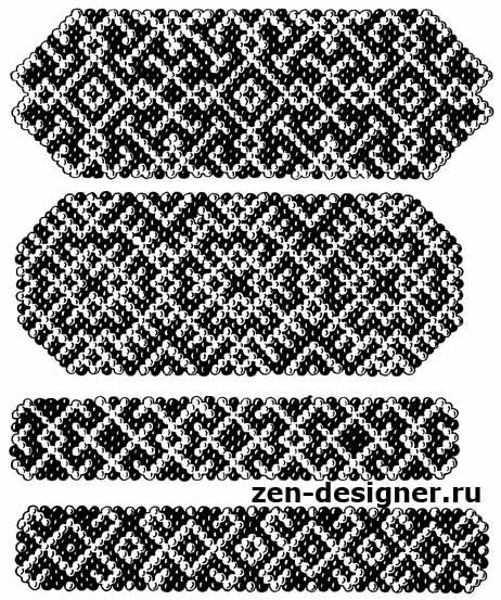 Схема вышивания орнамента