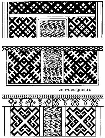 вышивки поясных украшений