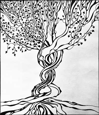 деревья деревья рисунки