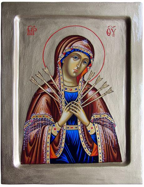 молитва семистрельной иконе: