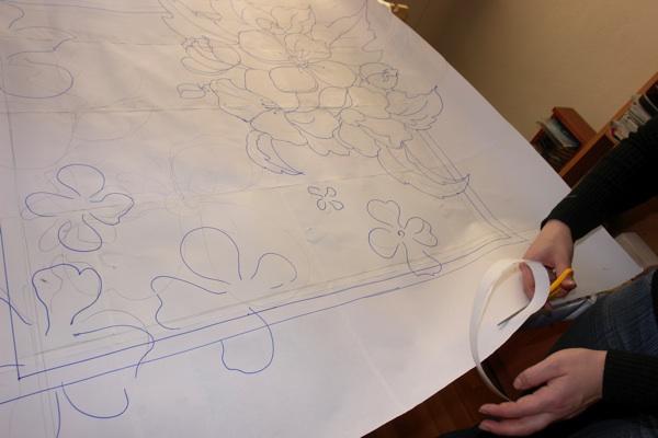 Рисунок для холодного батика