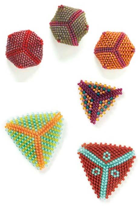 Объемные треугольники из