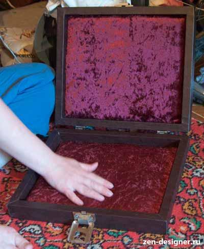 Готовый чемодан своими руками