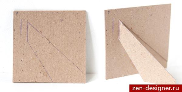 Рамки с картона своими руками