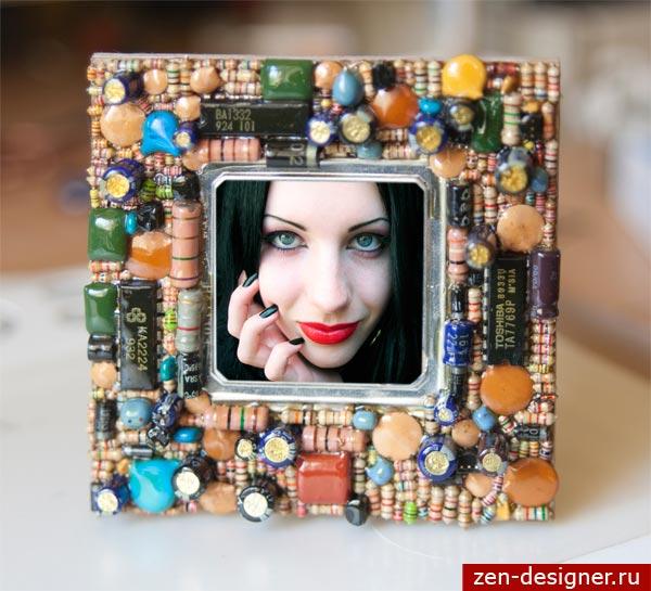 Рамки для фото своими руками из подручного материала фото