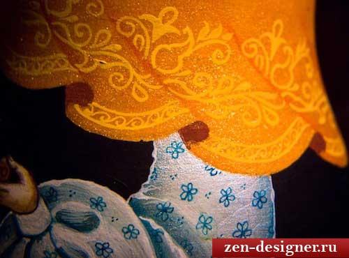 Декорируем платок