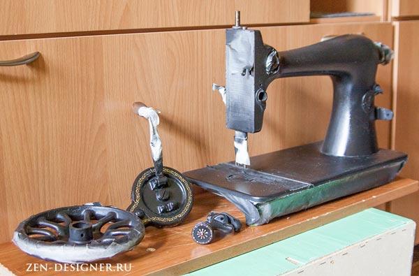 Как разобрать швейную машинку Singer