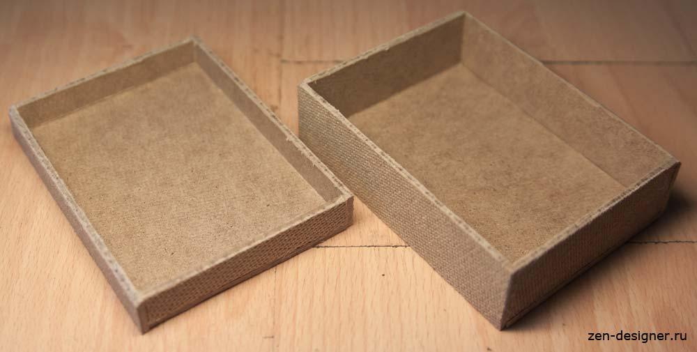 как сделать шкатулку для украшений своими руками из коробки поэтапно