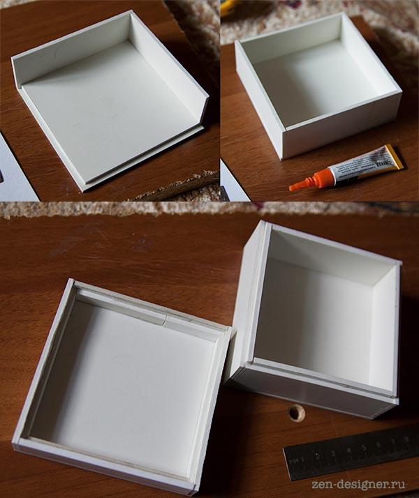 Изготовление пластиковой коробки своими руками 62